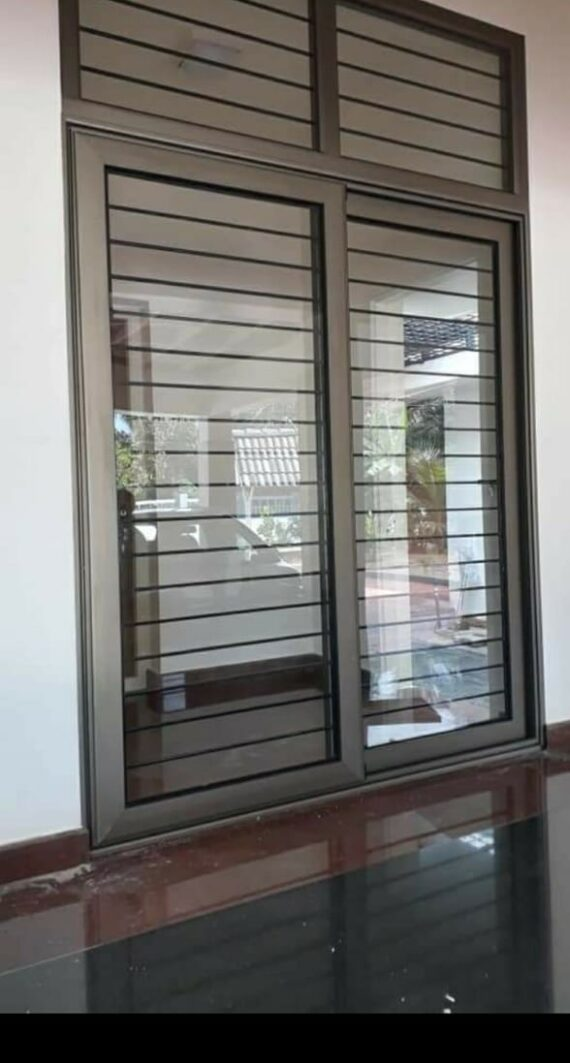 aluminium section window partition